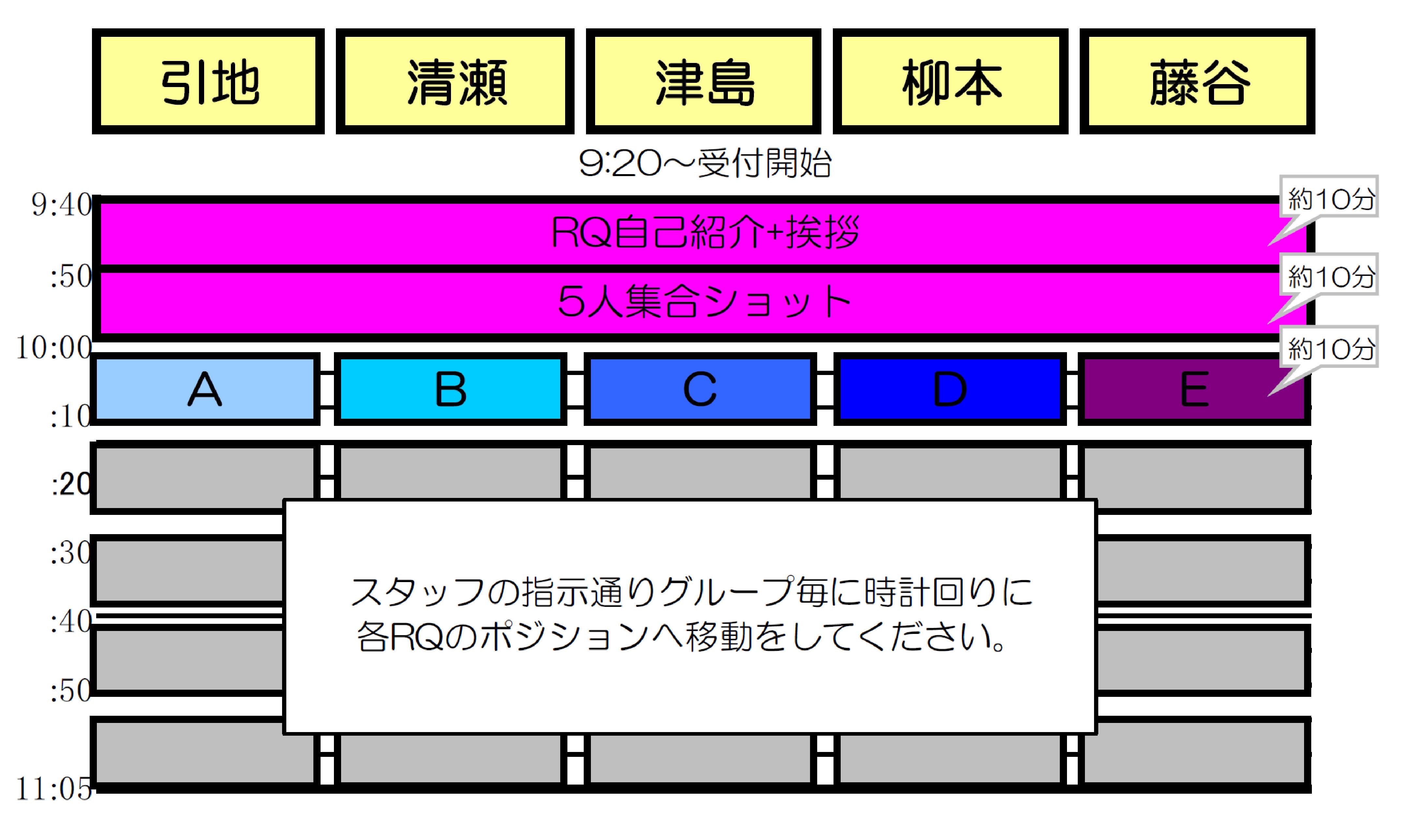 0917RQ撮影会1部スケ