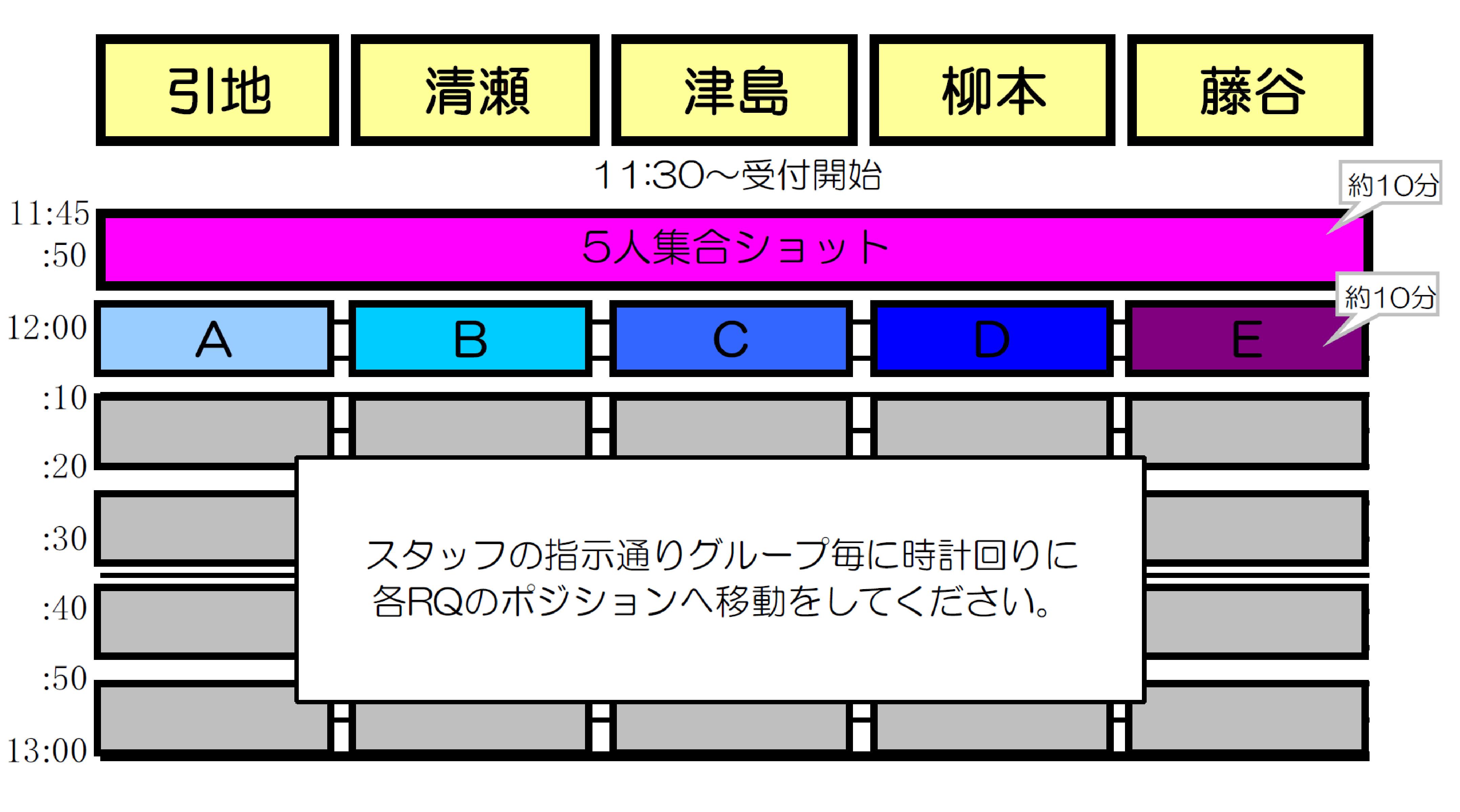 0917RQ撮影会2部スケ